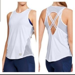 Under Armour Tops - New!! Under Armout White Tank Top
